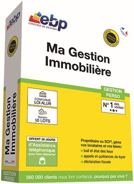 Ebp location immobili re v5 version 50 lots 2017 for Location immobiliere